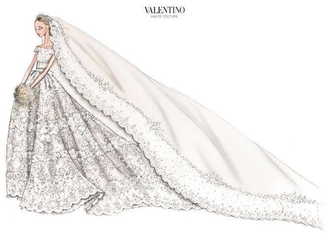 Abito Sposa Valentino - Royal wedding Svezia