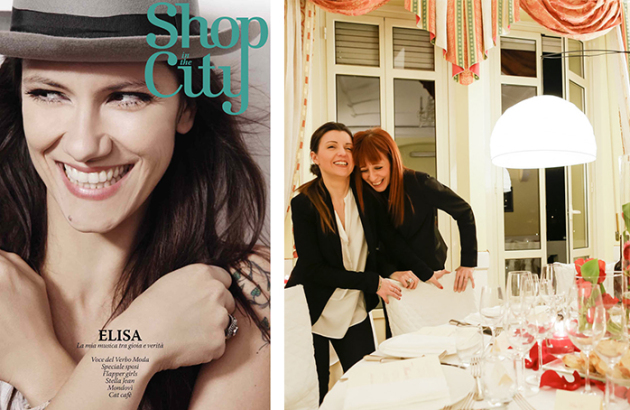 Press Shop in the city -Serena Obert wedding planner