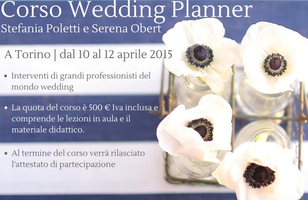 corso wedding planner torino