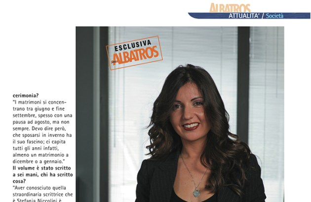 SERENA OBERT PRESS - VOGLIO FARE LA WEDDING PLANNER - WEDDING PLANNER TORINO