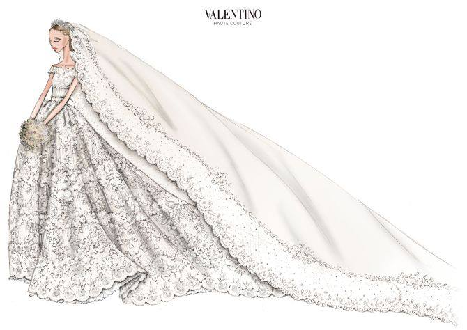 Abito Sposa Valentino - Royal wedding Svezia