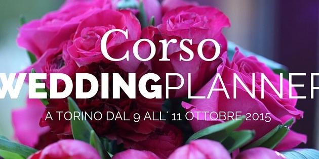 Corso wedding planner ottobre 2015